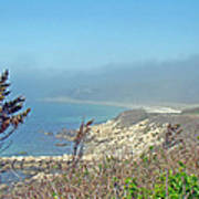 Misty View From Nobska Point - Woods Hole Ma Poster