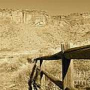 Moab - Sepia Poster