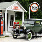 Model A Ford Poster by Ted Kinsman