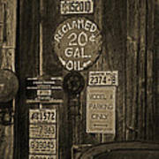 Model A Parking Poster by Terrie Taylor