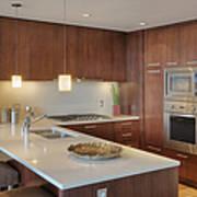 Modern Kitchen Interior Poster