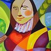 Modern Lisa Poster