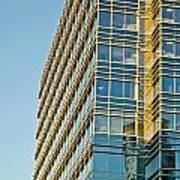 Modern Office Building Windows Poster