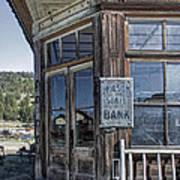 Molson Washington Ghost Town Bank Poster