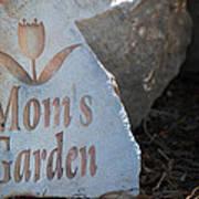 Mom's Garden Poster