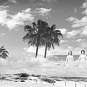 Mom's Tropical Dreams Bw Poster