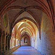 Monastery Passageway Poster