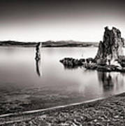 Monochromatic Mono Lake Sunrise Poster