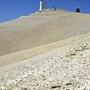 Mont Ventoux.provence Poster by Bernard Jaubert