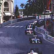Monte Carlo Casino Corner Poster