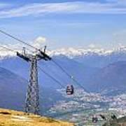 Monte Tamaro - Switzerland Poster