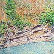 Montlake In Winter Poster