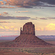 Monument Valley - East Mitten Butte Poster