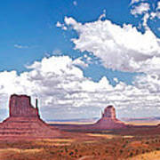 Monument Valley Pano Poster