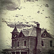 Moonlit Night Poster by Kathy Jennings