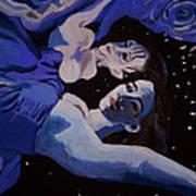 Moonwaters Poster by Adam Kissel