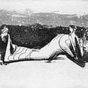 Moore: Reclining Figure Poster