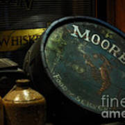Moore's Tavern After Closing Poster by Mary Machare