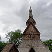 Moorhead Stave Church 2 Poster