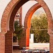 Moorish Arches Poster