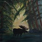 Moose Pond Hideout Poster