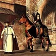 Mordechai And Haman Poster