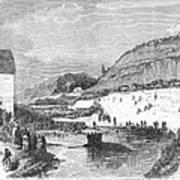 Mormon Baptismal, 1873 Poster