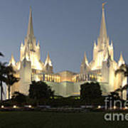 Mormon Cathederal San Diego 2 Poster