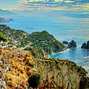 Morning In Capri Poster