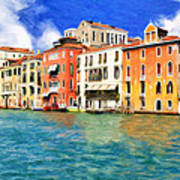 Morning In Venice Poster