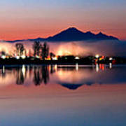 Morning Light And Fog Poster by Detlef Klahm