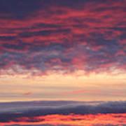 Morning Sky Portrait Poster