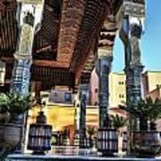 Morocco Architecture II Poster