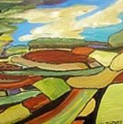 Mosaic Landscape Poster