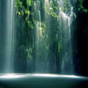 Mossbrae Falls In Sunlight Poster