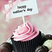 Mother's Day Cupcake Poster