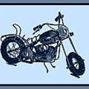 Motorbike 1a Poster