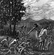 Mound Builders: Farming Poster
