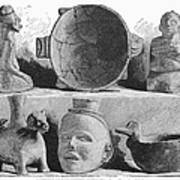 Mound Builders: Pottery Poster