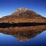Mount Errigal, Lough Nacung, Dunlewy Poster