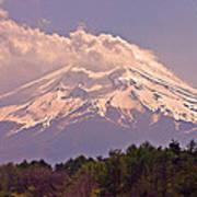 Mount Fuji Poster
