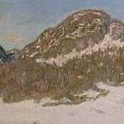 Mount Kolsaas In Sunlight Poster