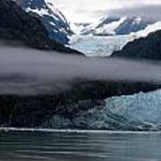 Mount Margerie At Glacier Bay Alaska Usa Poster