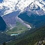 Mount Rainier Xi Poster