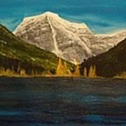 Mount Robson Alberta Poster