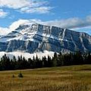 Mount Rundle Poster