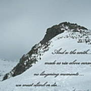 Mount Washington Climb Poster