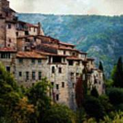 Mountain Village Poster