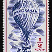 Mrs Graham The Balloonist Poster