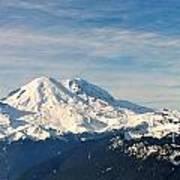 Mt Rainier Panoram Poster